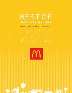 MCD sustainable awards front page